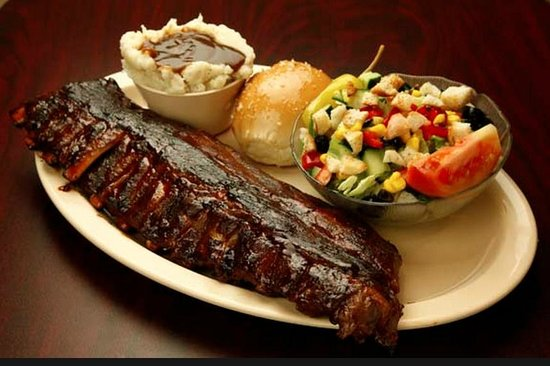 Ranch Hand BBQ : Rib meal