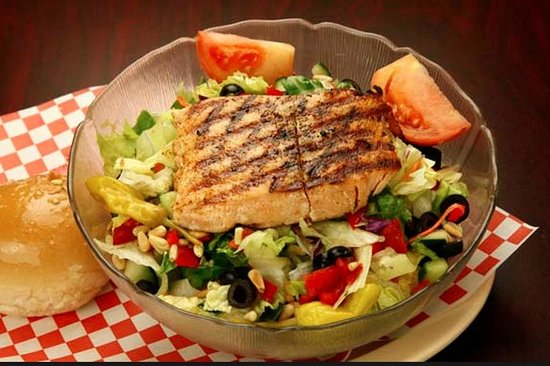 Ranch Hand BBQ : Salmon Salad