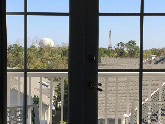 Disney's BoardWalk Inn: View from Room 5308