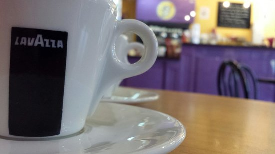 Gorgeous Gelato: Delicious espresso.