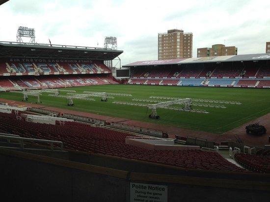 West Ham United Hotel: View from the room!