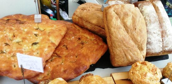 Glasshouse Cafe: Selection of Breads