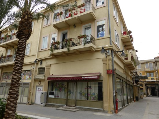 1926 Apartments Hotel : Vue appart Ouest