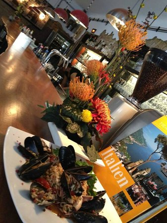 "Vicolo Cucina italiana: the ""ber"" months with fresh muscles and co."