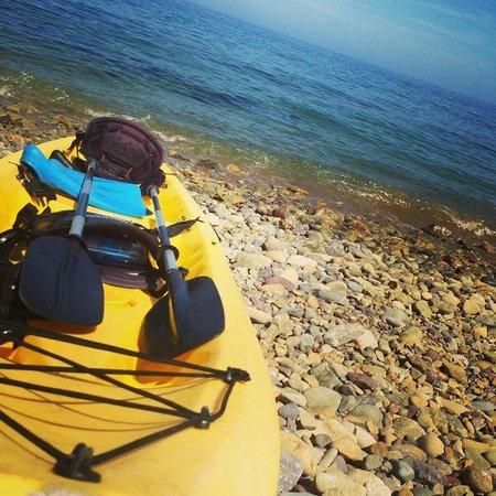 Hermosa Hotel: Kayaking Rest
