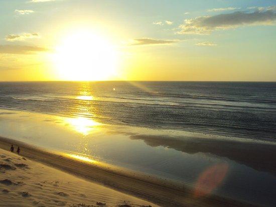 Casa na Praia : Pôr do Sol