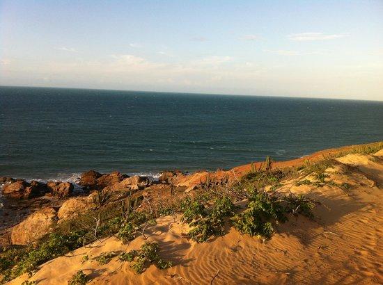 Casa na Praia : Caminho à Pedra Furada
