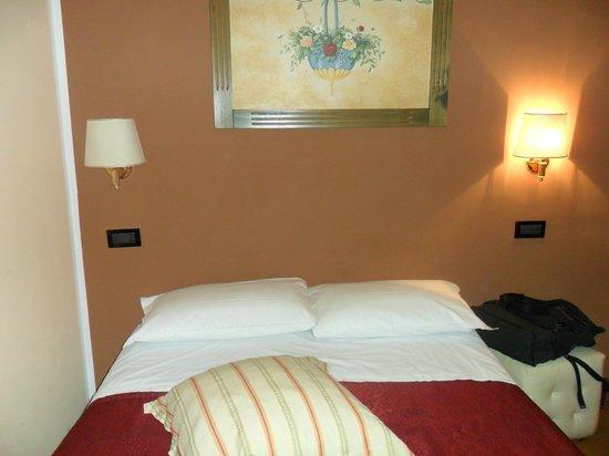 Hotel Domus Tiberina: Stanza n 24, manca l'armadio, piccola ma carina, mi è piaciuta.