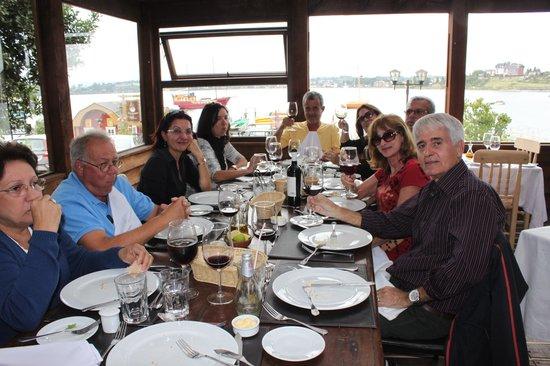 Restaurant Casavaldes: CASA VALDÉS VISTA PARA O LAGO