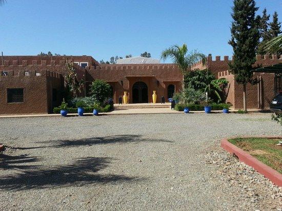 Hotel Riad Berbere : L'entrée du riad