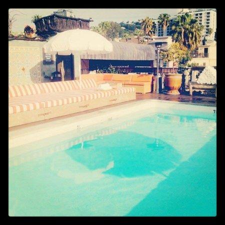 Petit Ermitage: rooftop pool