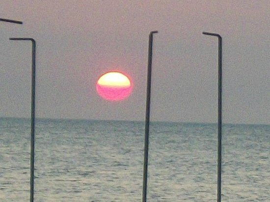 Zuana Beach Resort : Atardecer en el Zuana