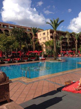 Sofitel Marrakech Palais Imperial : View of Pool
