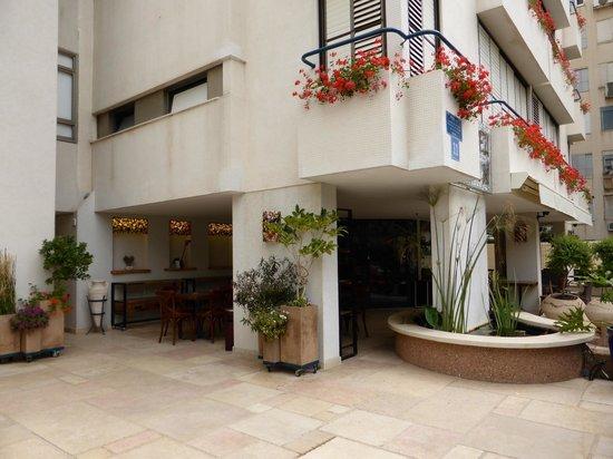 Arbel Suites Hotel: Vue entrée