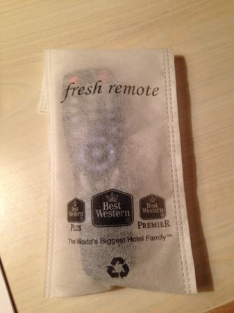 Best Western Ponderosa Lodge: They take cleanliness seriously!