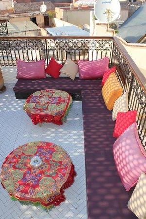 Riad Al Ralia : rooftop terrace