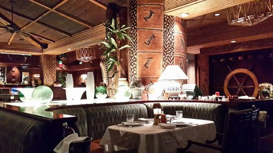 Trader Vic's in InterContinental Hotel: Typical Trader Vic's decor