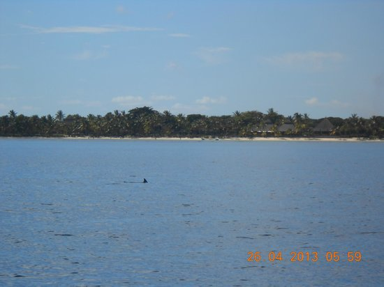 The Oberoi, Mauritius : on our boat for the day