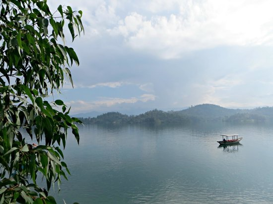 Centre Bethanie : View of Lake Kivu from the hotel