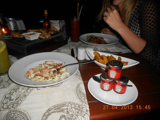 The Oberoi, Mauritius : beach dining
