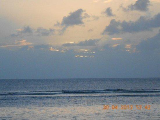 The Oberoi, Mauritius : missed sunset