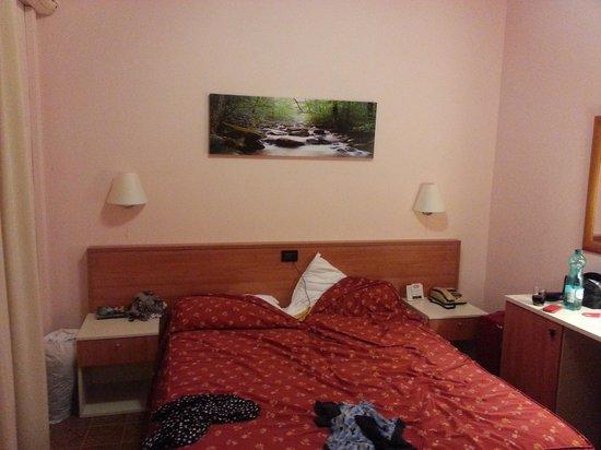 Hotel Delle Rose: chambre (de touriste)
