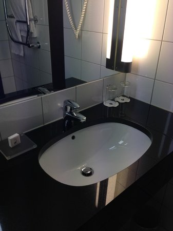 Scandic Helsfyr: sink