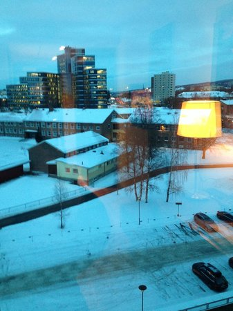 Scandic Helsfyr: View of a wintery Oslo