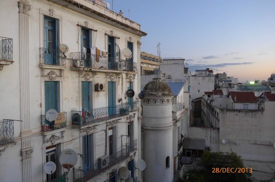 View from the breakfast room, ST Hotel, Algiers