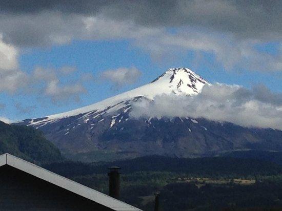 Aldea Naukana Posada Boutique: View of Villarrica from the room