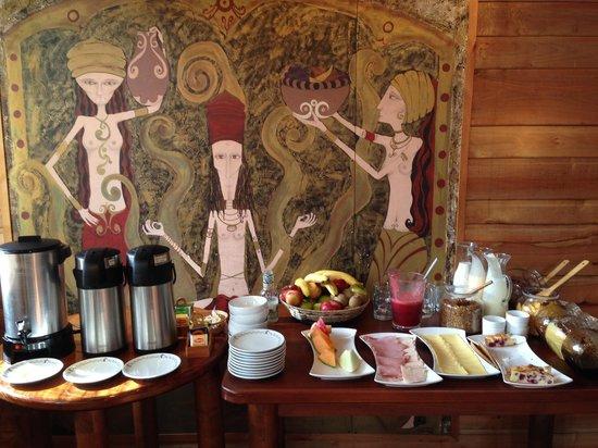 Aldea Naukana Posada Boutique: Breakfast buffet