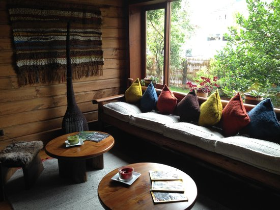 Aldea Naukana Posada Boutique: Cozy sitting room