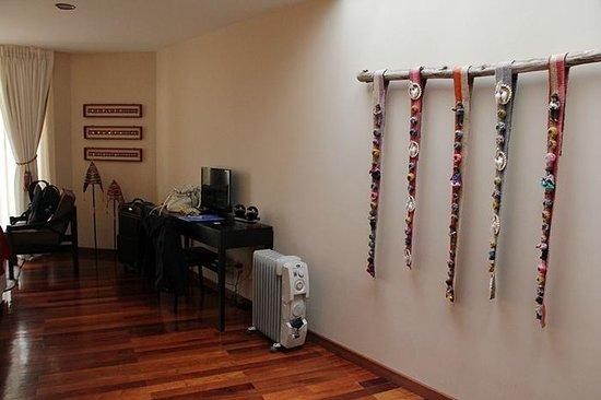 Hotel Rosario Lago Titicaca : Room.