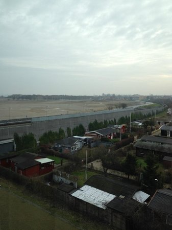 Park Inn by Radisson Copenhagen Airport : View from the fifth floor