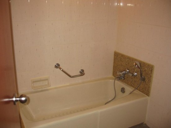 Holiday Inn Chiang Mai : Tub with shower head at knee level