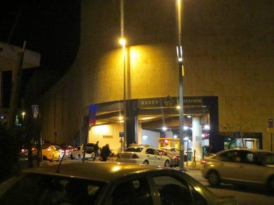 Jerusalem Gate Hotel : Cercano a la Estación Central