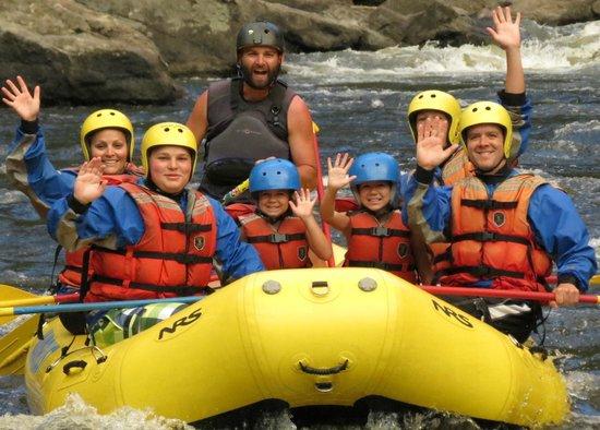 A Wanderlust Adventure: Kids love our Taste of Whitewater Trip!