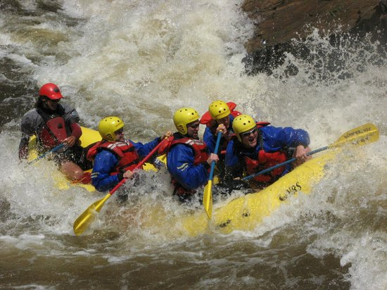 A Wanderlust Adventure: Maw of Death Rapid on the Blast of Whitewater Trip