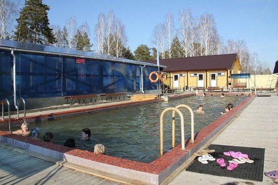 Hot spring Sosnoviy Bor