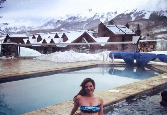Mountain Lodge Telluride : Jacuzzi after a long day of skiing!