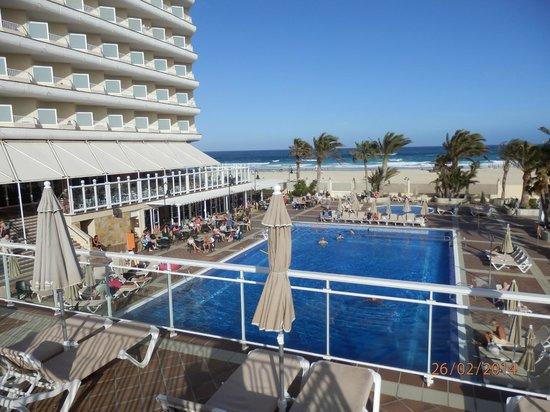 Widok z 7 pi tra na pla e picture of hotel riu oliva for Riu oliva beach fuerteventura