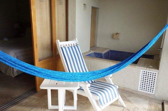 Club Regina Cancun: Balcony