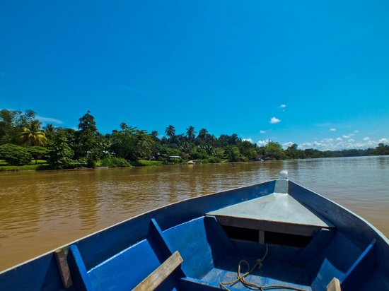 Osman's Homestay : On the Osman's boat