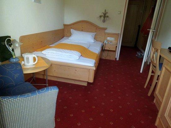 Alpenhotel Rieger: одноместный номер
