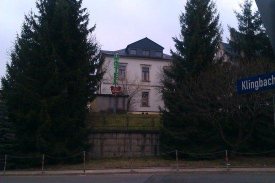 Hotel Am Rittergut: Blick von der Straße