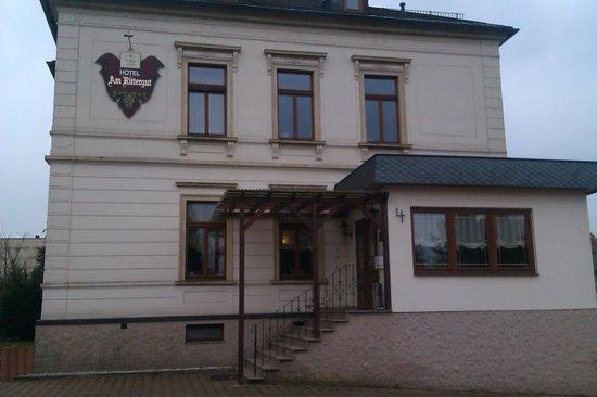 Hotel Am Rittergut: Haupteingang