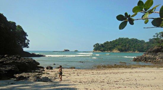 Manuel Antonio: playa