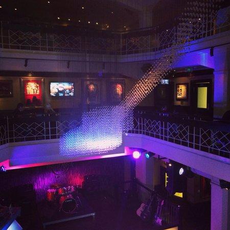 Hard Rock Cafe : L'interno del locale