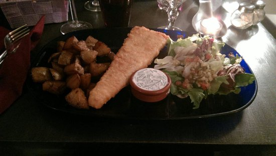 Le Purple : Fish and chips