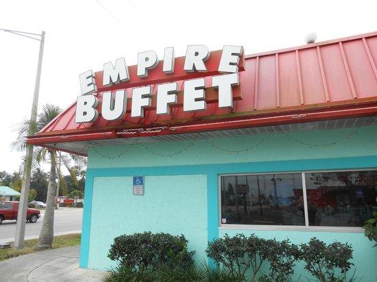 Empire Buffet: Near Front door